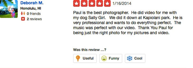 Review from wedding couples 2