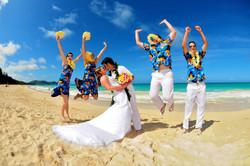 Hawaii beach wedding - lotus car 19