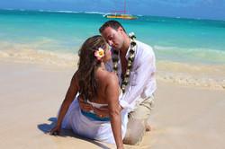 Lanikai beach wedding photos-1