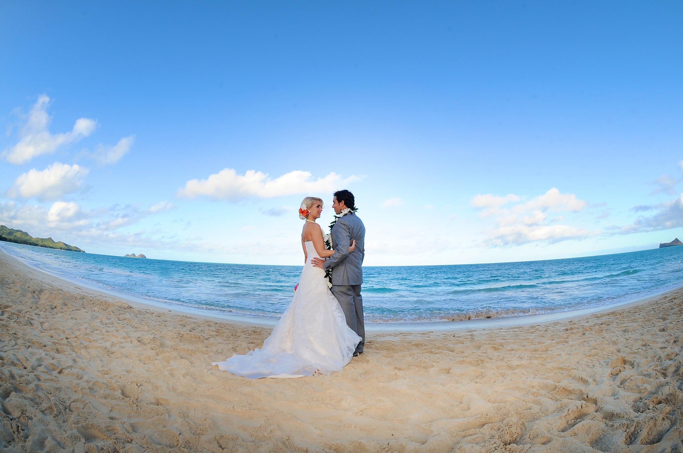 wedding In Hawaii with beautifull bride-2