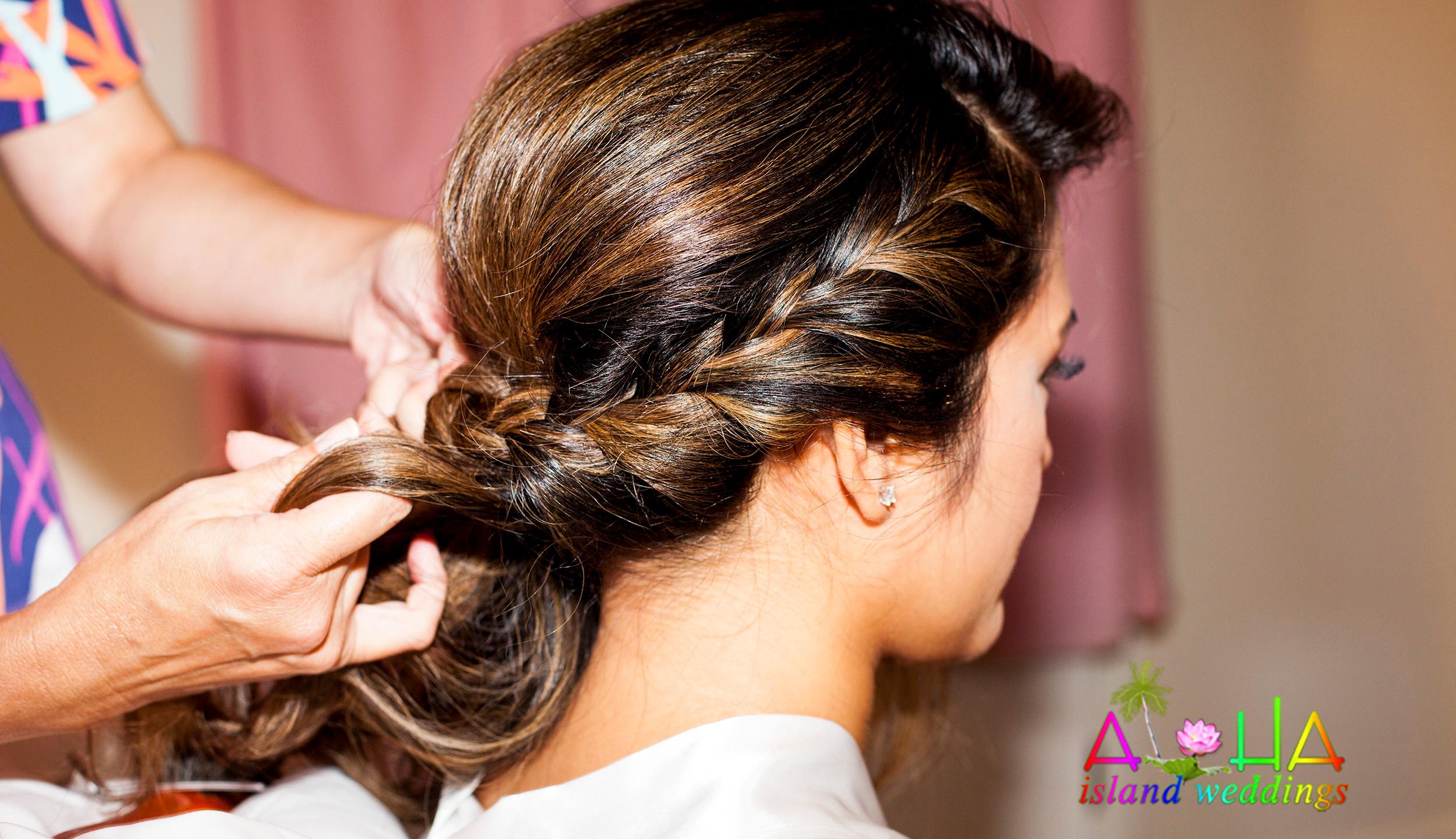 Hawaii hair & Makeup