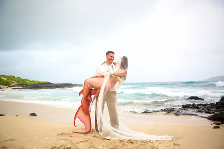 Mermaid Wedding Honolulu