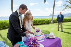 Wedding ceremony at paradise cove 3