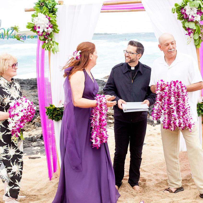 Karen & Todd  Wedding in Hawaii 6