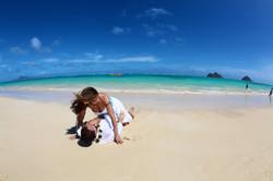 Lanikai beach wedding photos-6