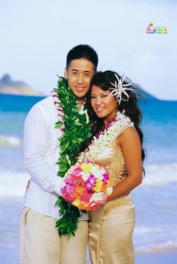 Beach wedding in Kailua-9