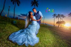 Sunset wedding in hawaiisunset 1Large