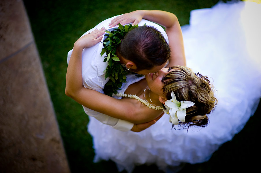 Bride Kissing