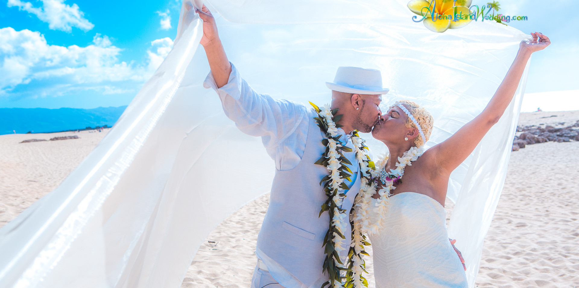 Wedding picture - North Shore Oahu Hawai