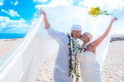 Oahu North shore wedding -10