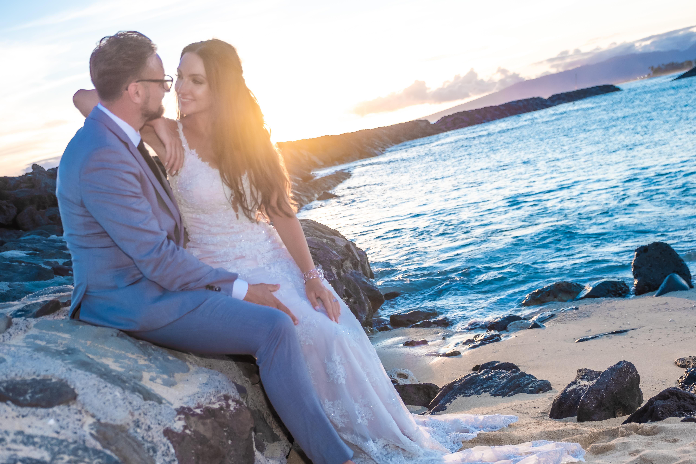 Magic island Hawaii beach wedding -65