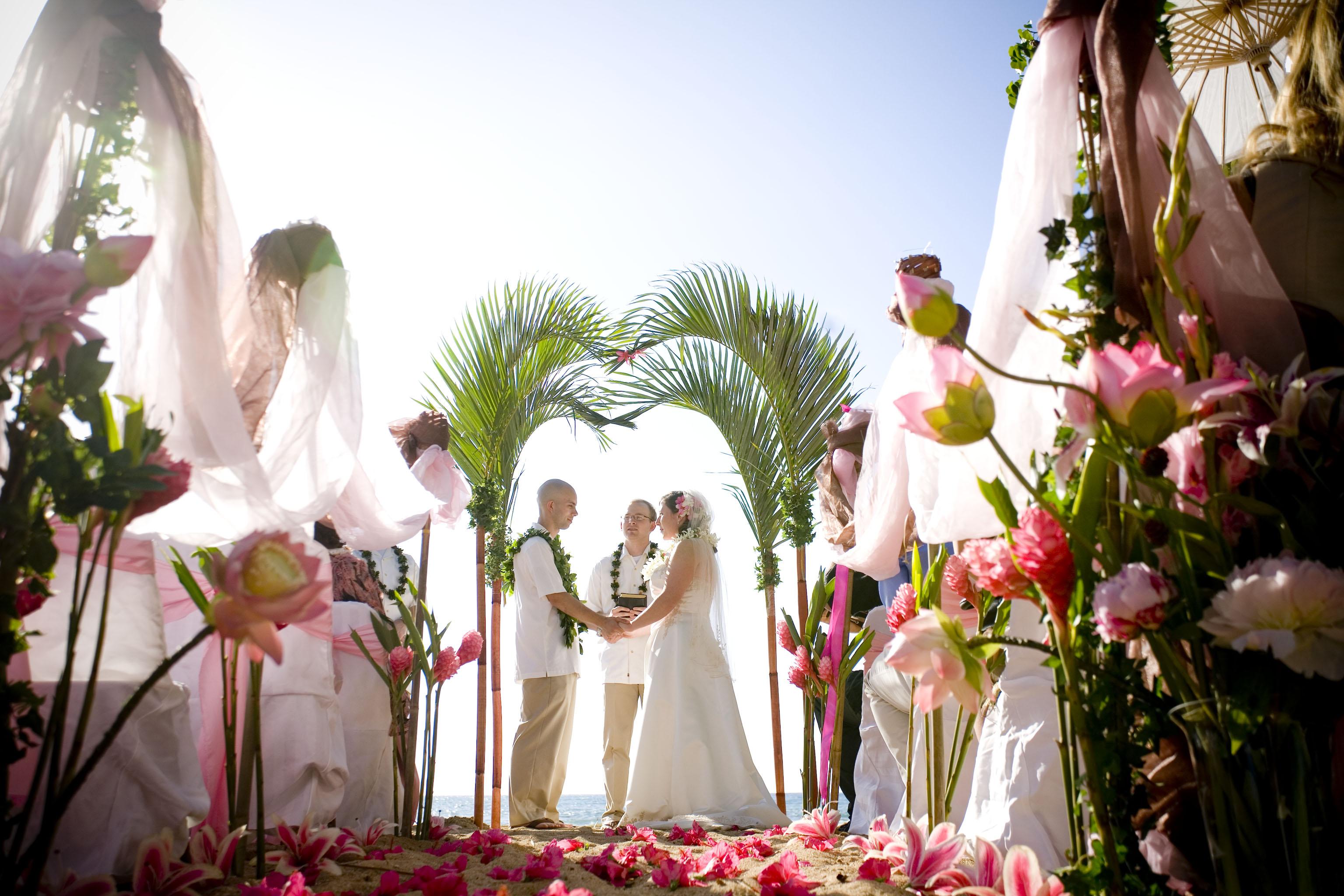 Paradise cove wedding 2