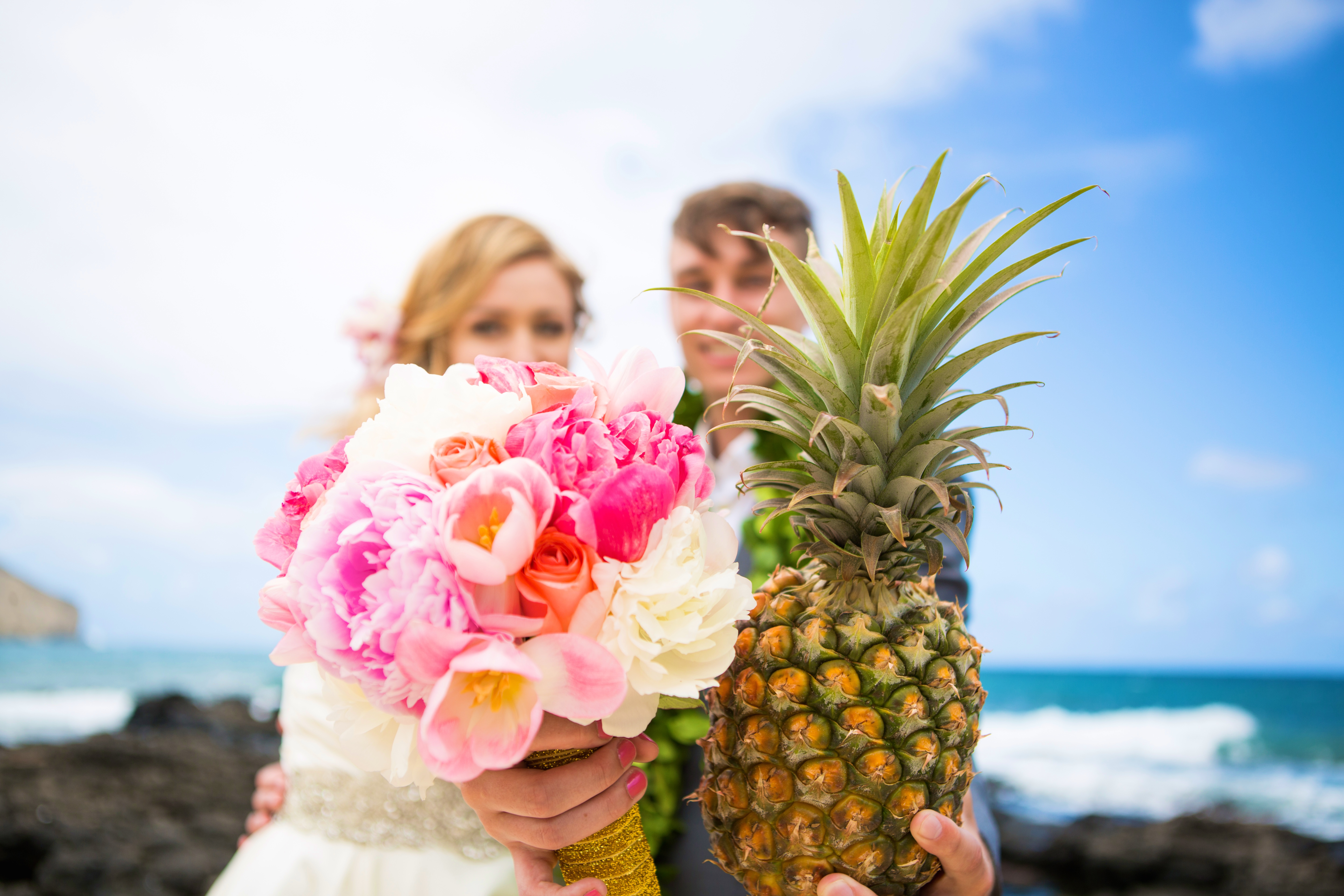 Hawaiian Wedding Pictre Romance -15