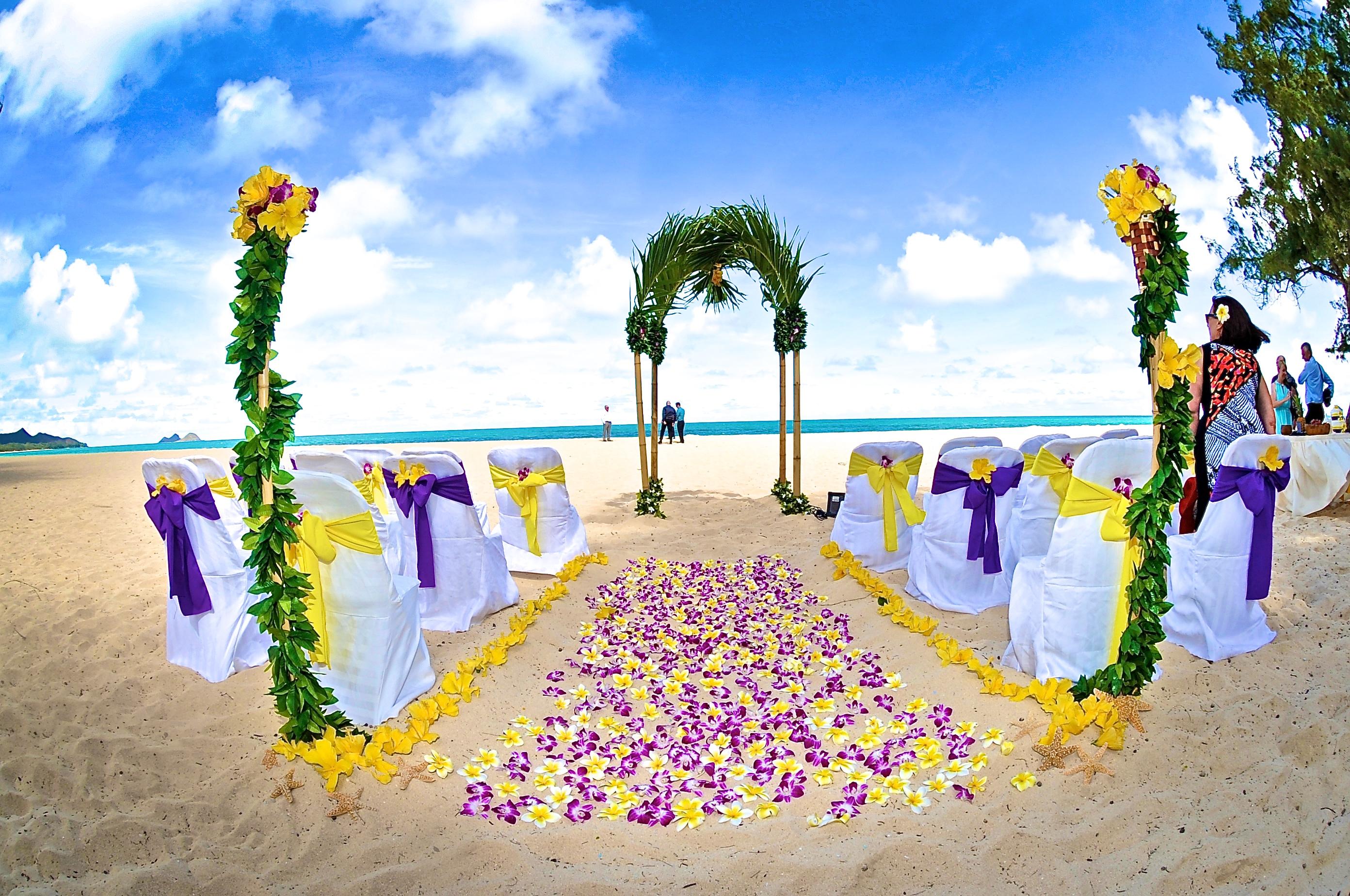 Hawaiian Wedding -5