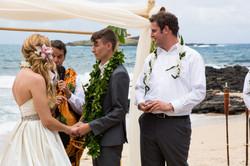 Hawaiian Wedding Ceremony -35