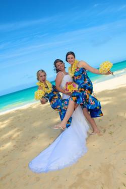 Hawaii beach wedding - lotus car 9