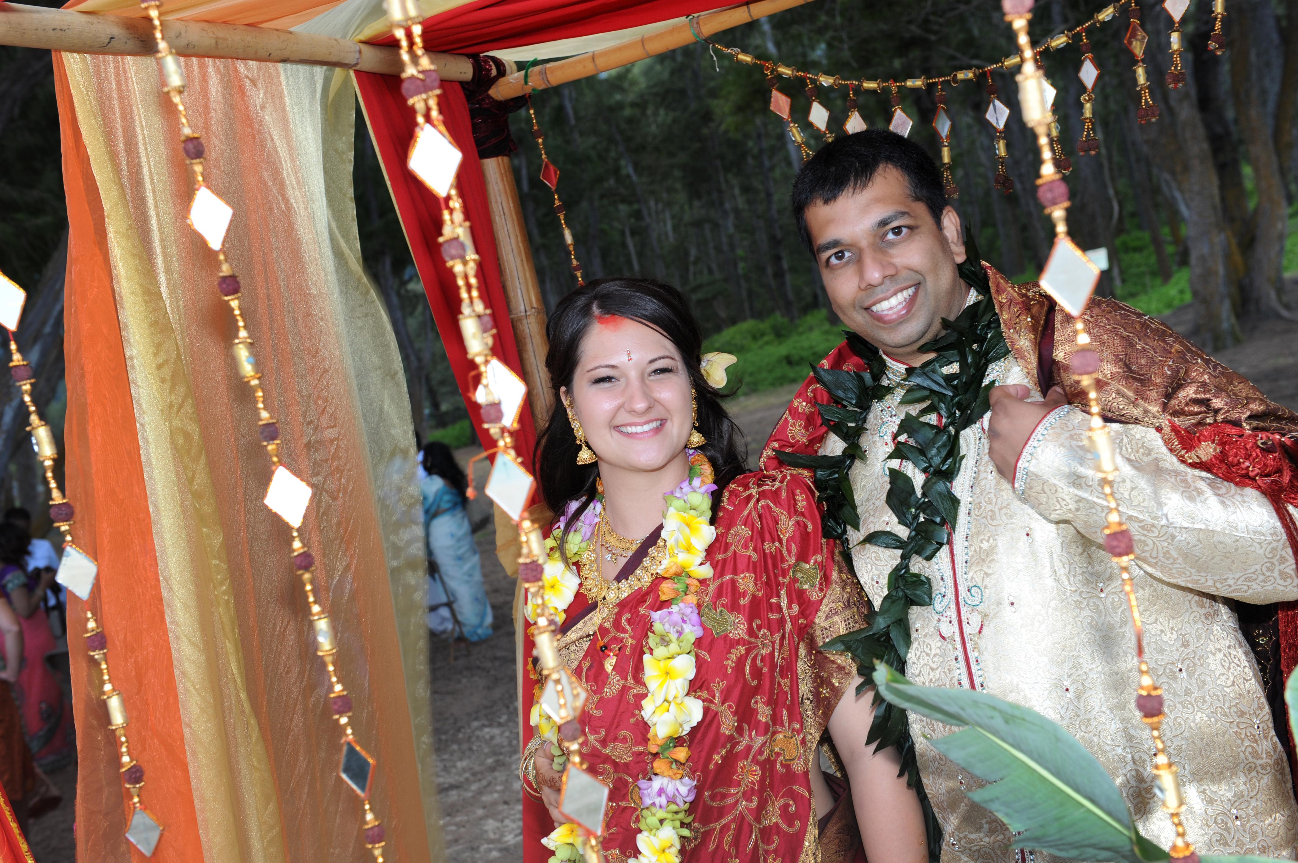 Hawaiian Indian Wedding Ceremony -48