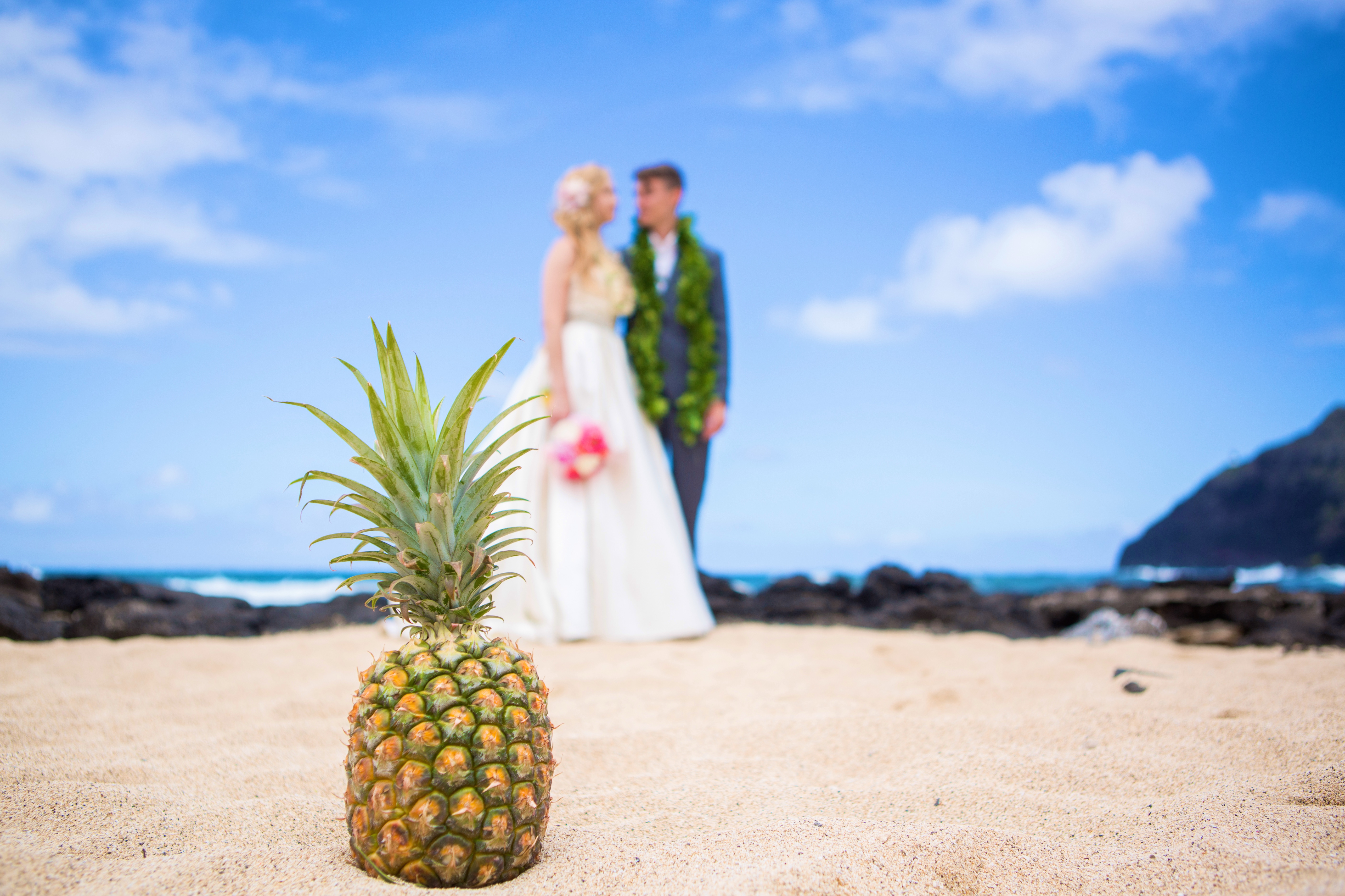 Hawaiian Wedding Pictre Romance -17