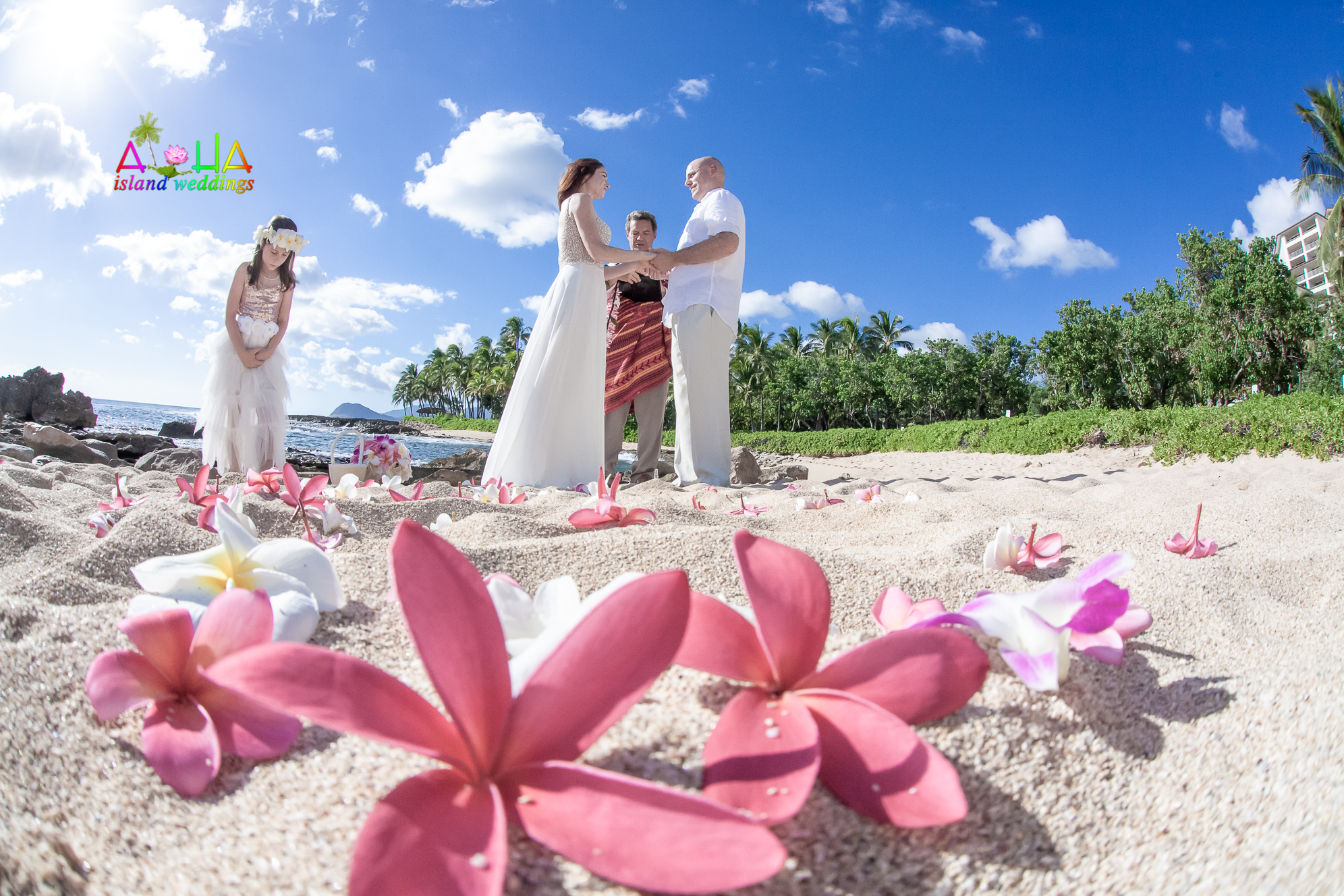 wedding or vow renewal site in the Ko'Olina-7