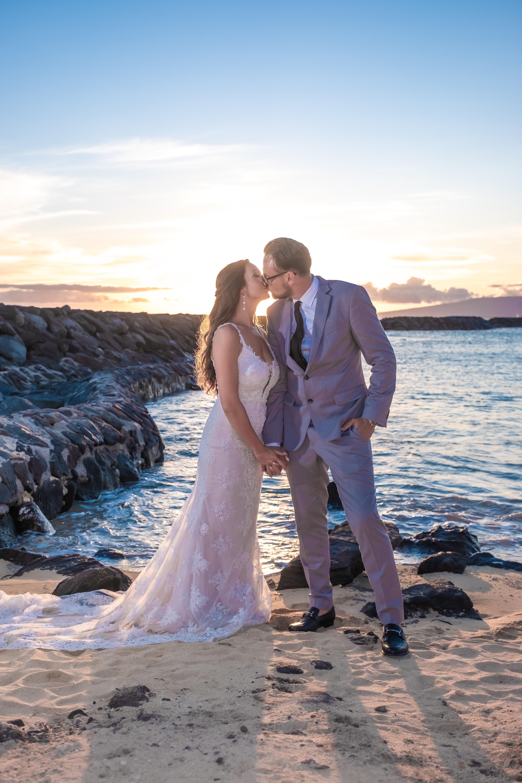 Magic island Hawaii beach wedding -56