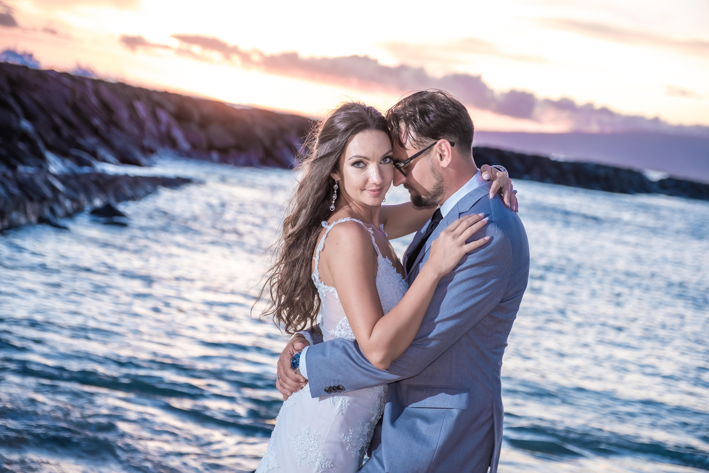 Magic island Hawaii beach wedding -15