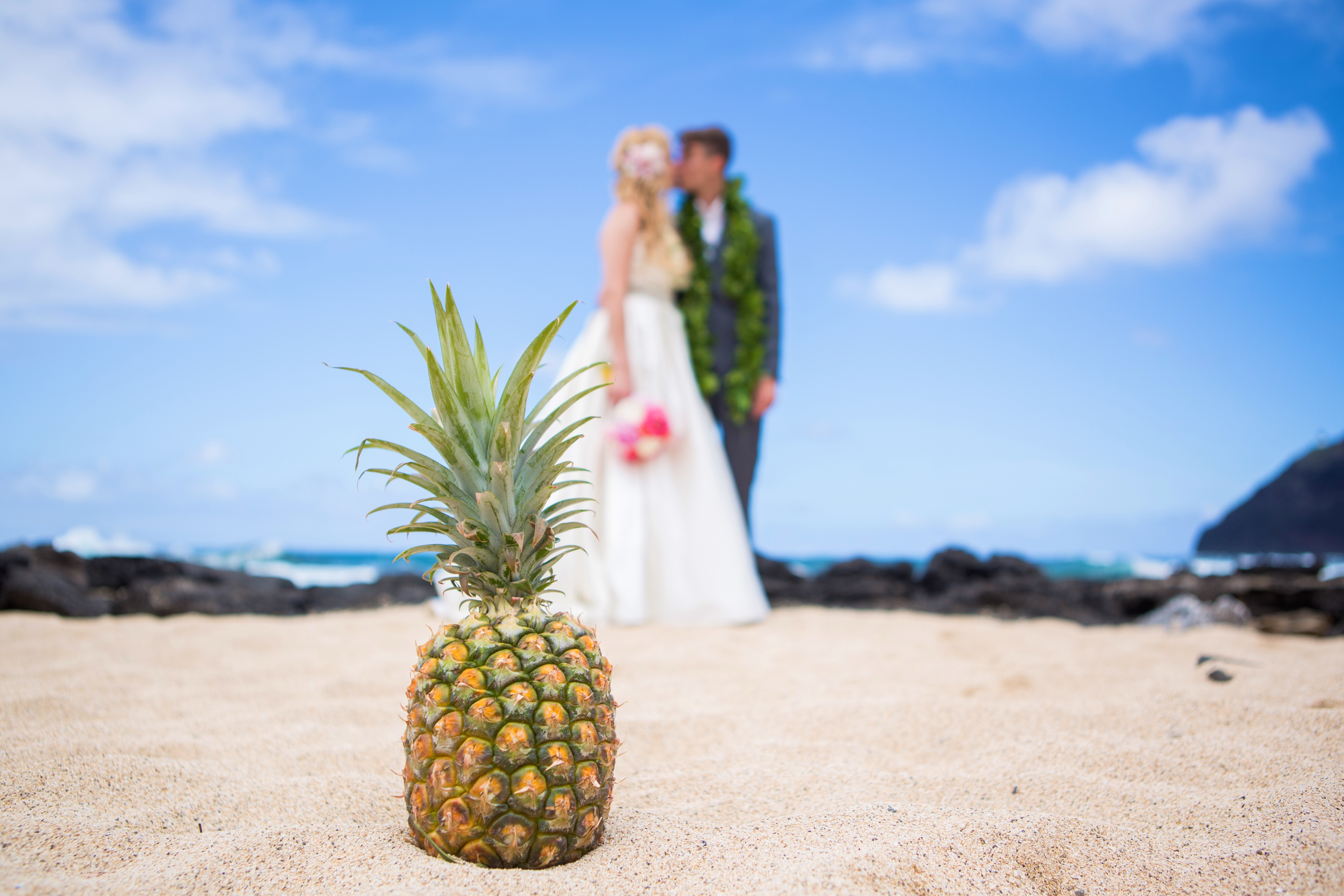 Hawaiian Wedding Pictre Romance -18