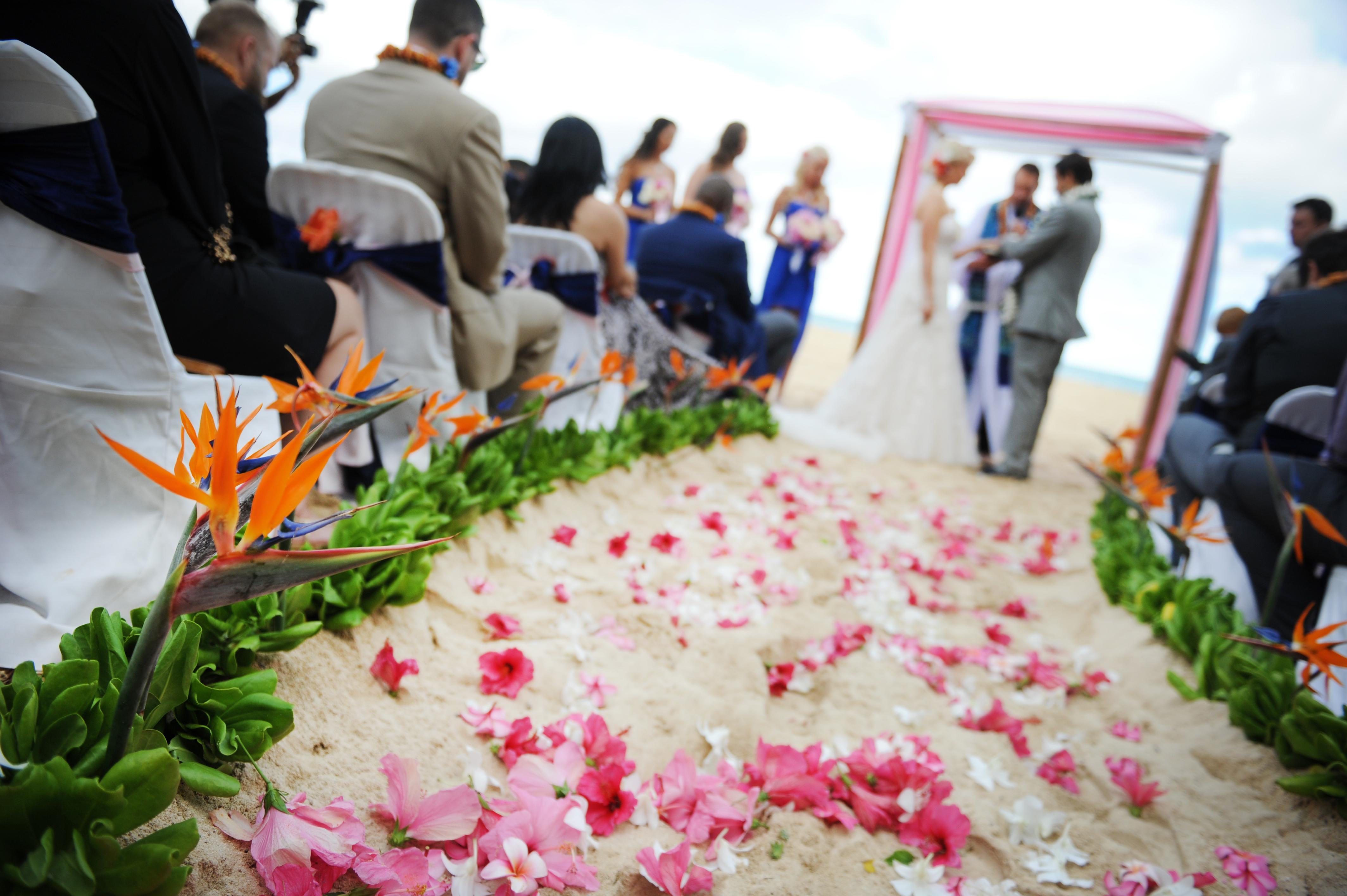 Chapel in the Sand Hawaii Wedding 4