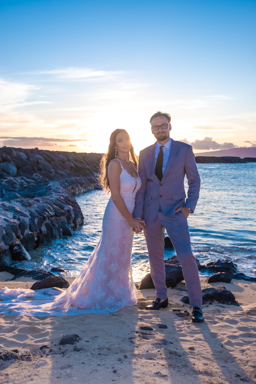 Magic island Hawaii beach wedding -54