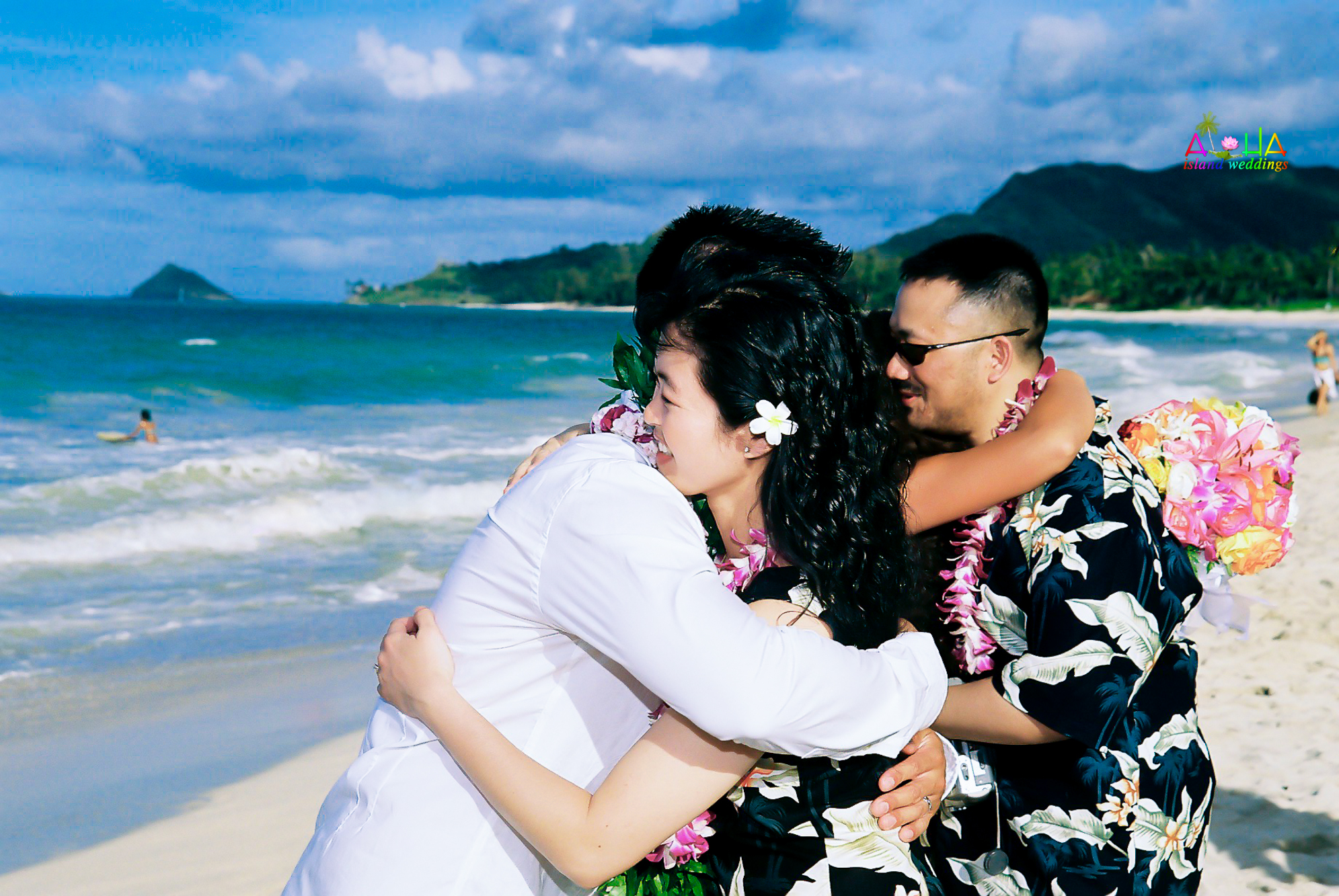 Beach wedding in Kailua-120