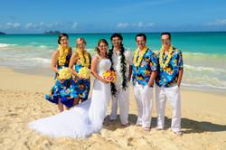 Hawaii beach wedding - lotus car 17