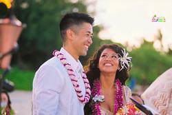 Beach wedding in Kailua-50