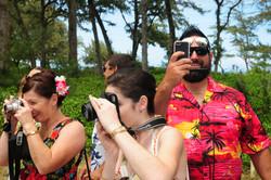 Hawaii beach wedding - lotus car 37