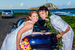 alohaislandweddings- Lotus car -14