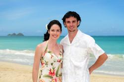Hawaii beach wedding - lotus car 25