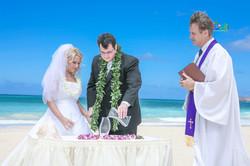 Sand wedding ceremony-7