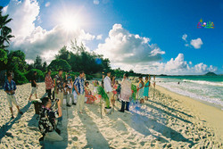 Beach wedding in Kailua-45