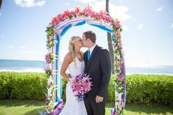 Hawaii wedding paradise cove 13