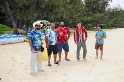 Hawaii beach wedding - lotus car 23