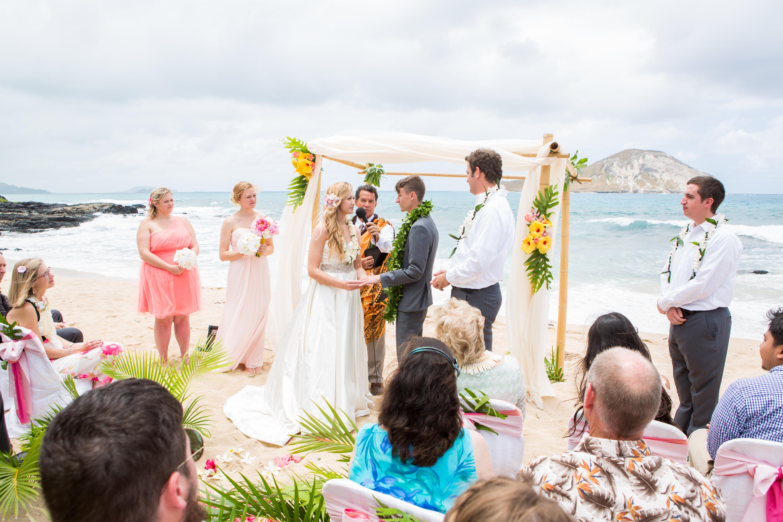 Hawaiian Wedding Ceremony -37