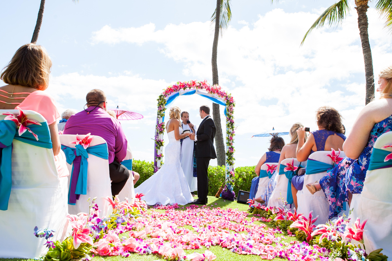 Wedding Ceremony at ko'olina