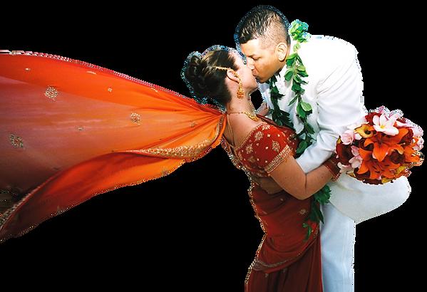 alohaislandweddings.com - Hawaiian indian wedding
