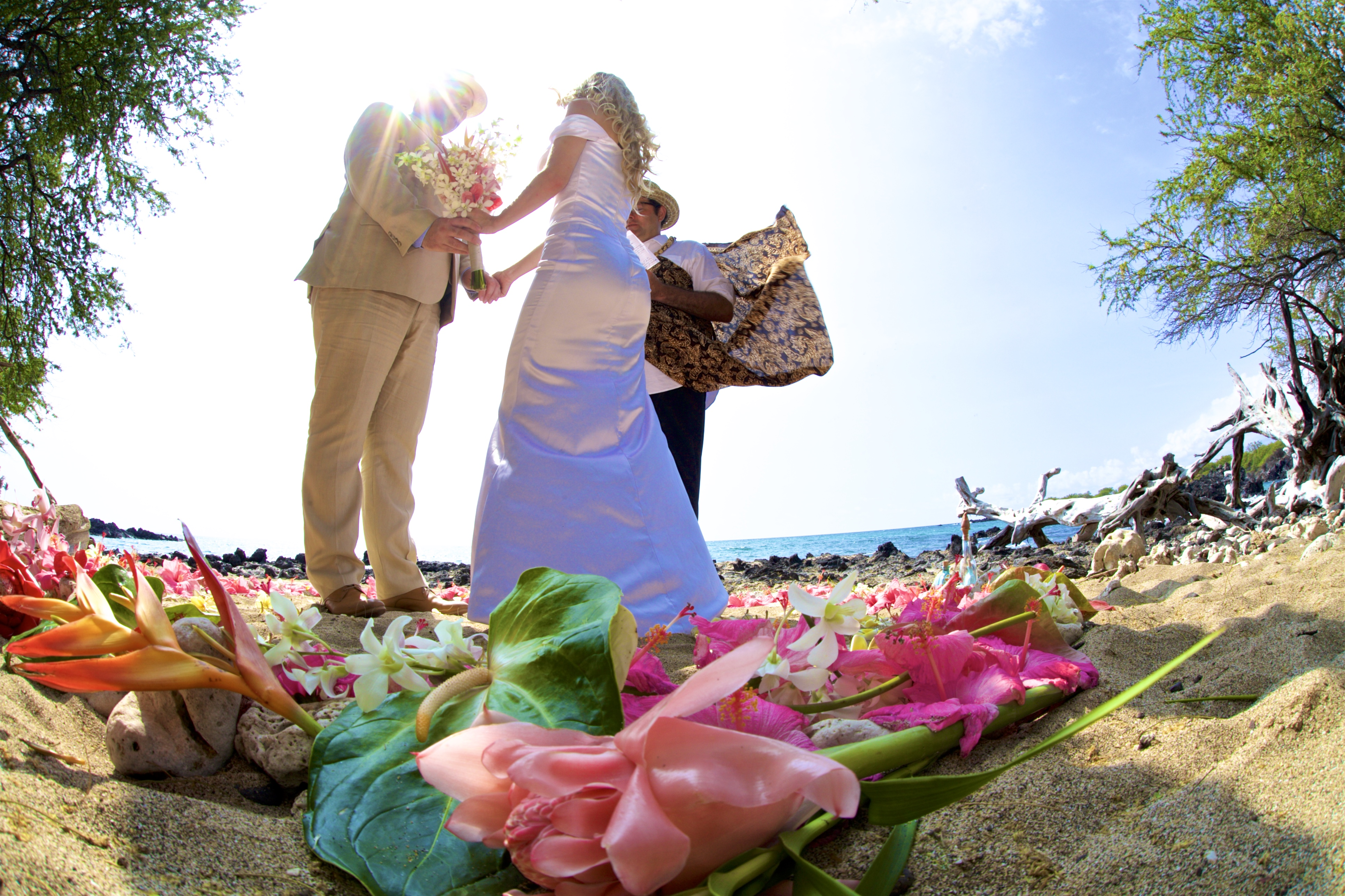 Big Island Wedding Ceremony