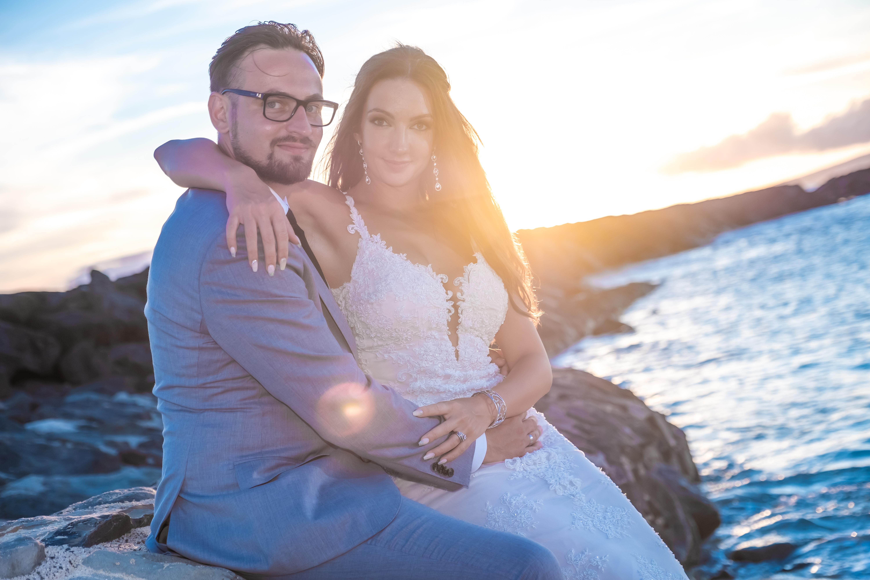 Magic island Hawaii beach wedding -61