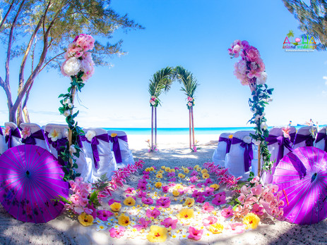 Purple wedding theme color