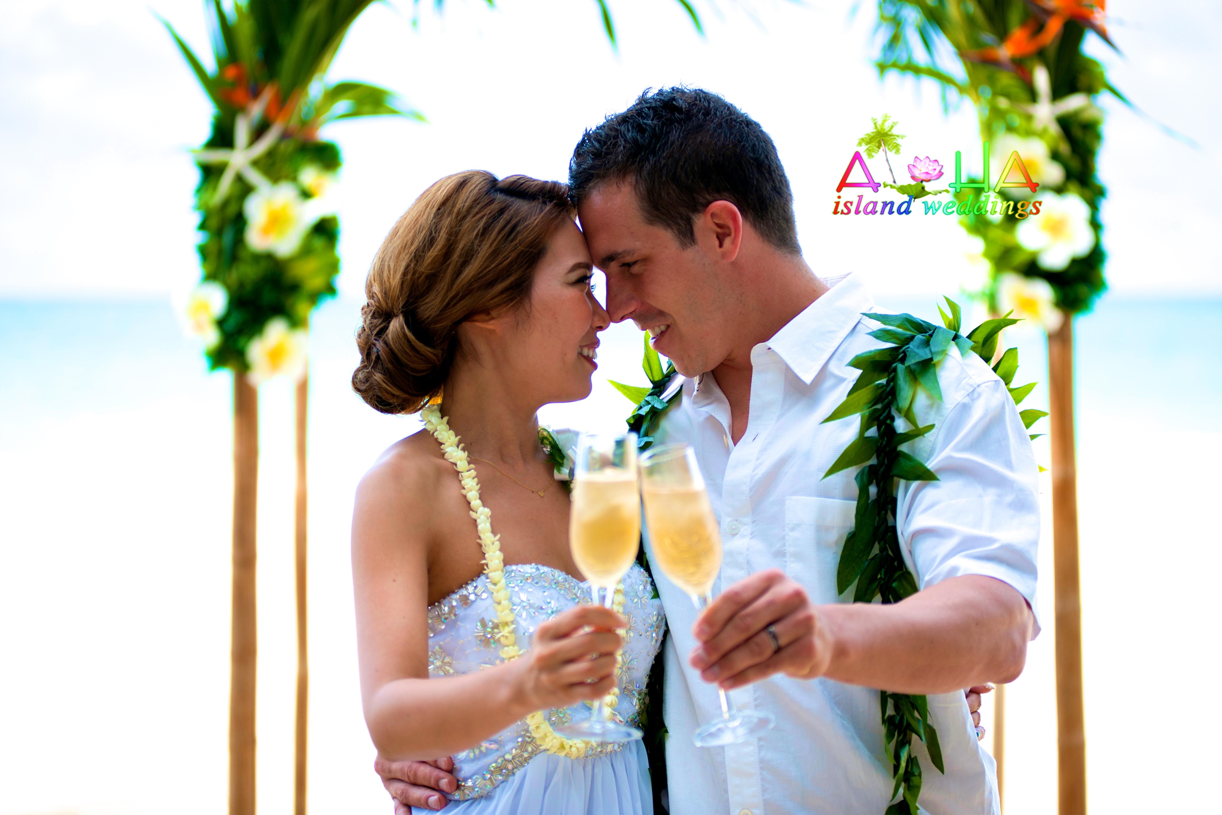 Wedding In Hawaii - by alohaislandweddings.com-3