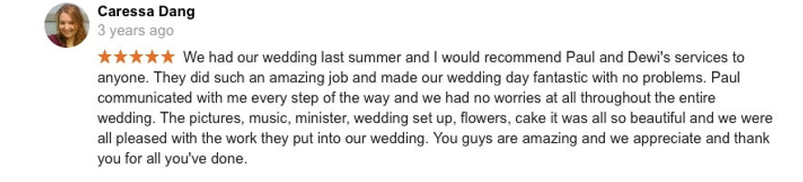 Hawaii Wedding review 29