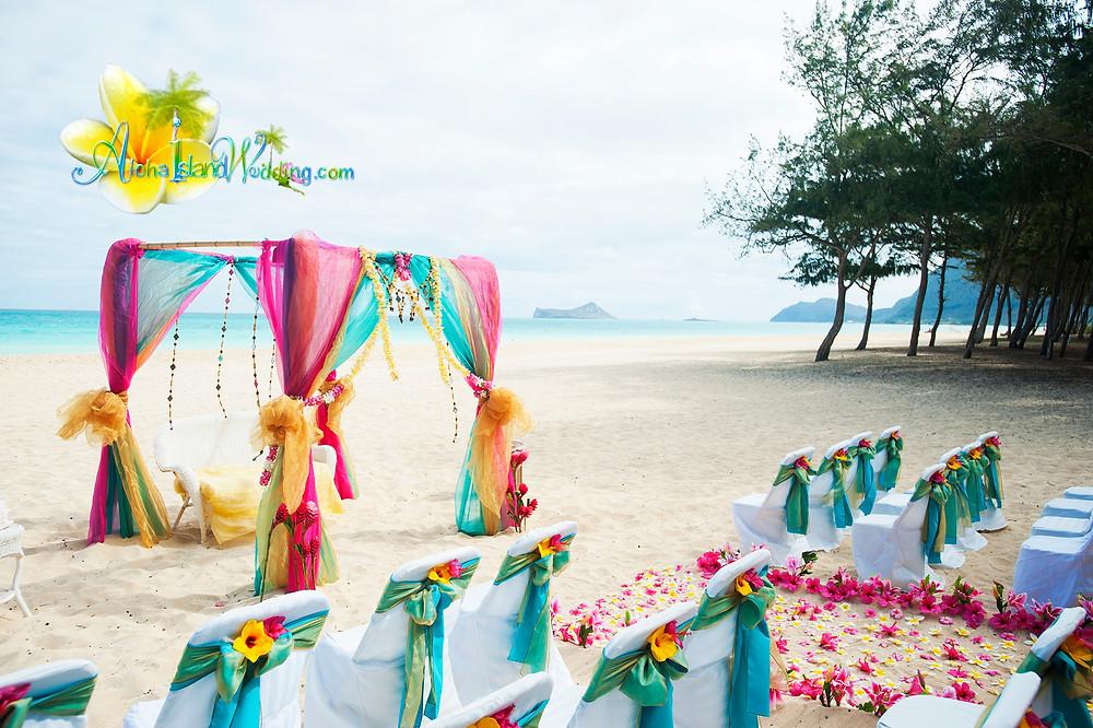hawaii Indian wedding by Alohaislandwedding