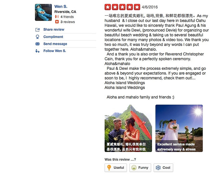 Review from wedding couples 6
