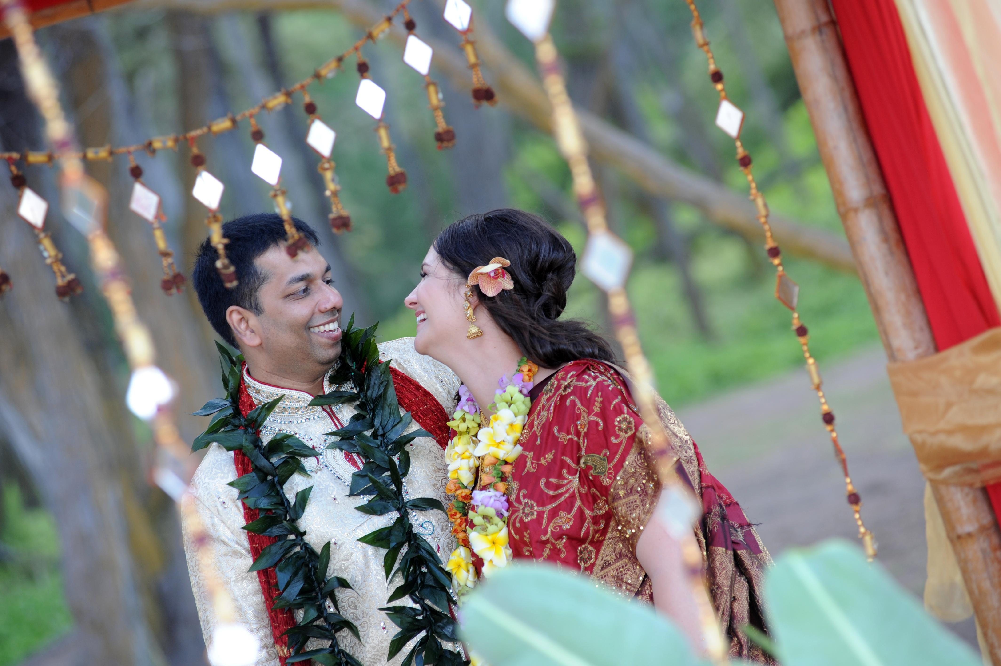 Hawaiian Indian Wedding Ceremony -45
