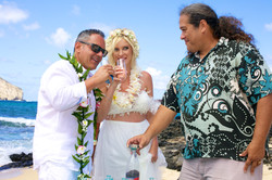 Vow Renewal in Hawaii -14